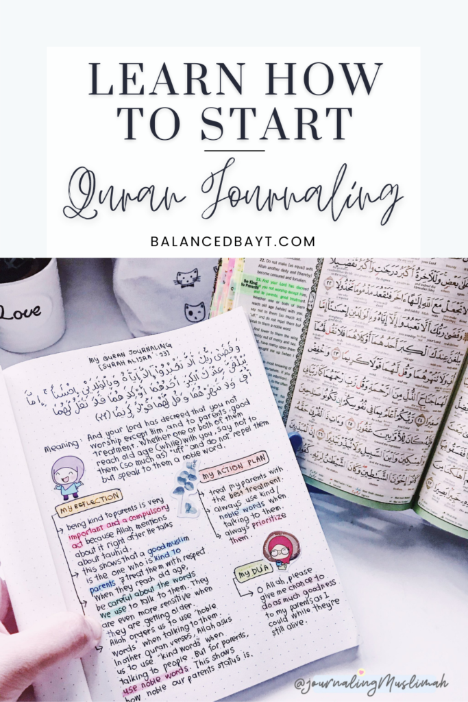 quran journaling for beginners